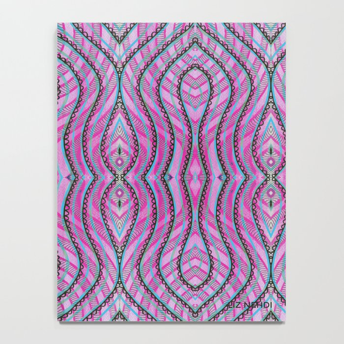 Currency I (Magenta) Notebook