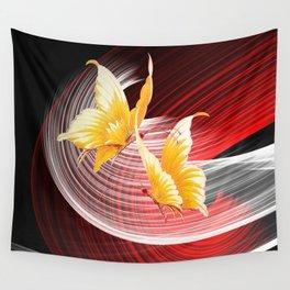 Tanz der Schmetterlinge Wall Tapestry