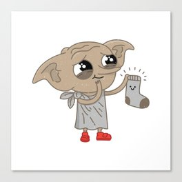 Free Elf Canvas Print