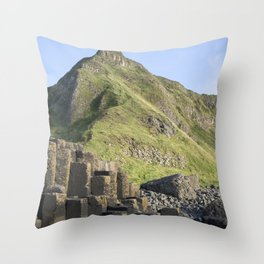 Giant's Causeway, Northern Ireland Throw Pillow