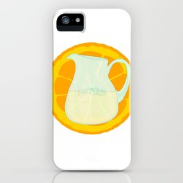 Cool Orangeade iPhone Case