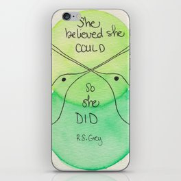 Believe iPhone Skin