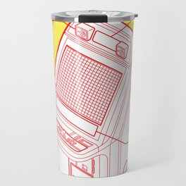 ARCADE CAB - NEW ASTRO CITY Travel Mug