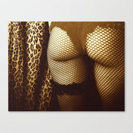 Booty Cheeks Canvas Print