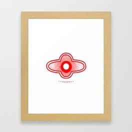 Healing Symbol Framed Art Print