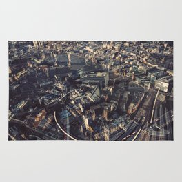 The City of London From The Shard Rug