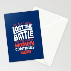 Lost the Battle Stationery Cards
