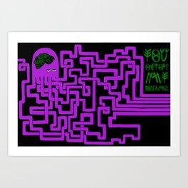 You Octopi My Dreams 2. Art Print