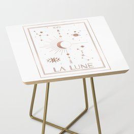 La Lune or The Moon White Edition Side Table