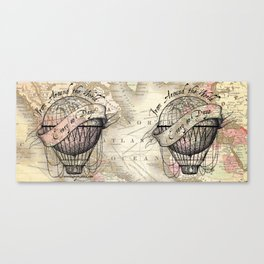 From Around the World Canvas Print