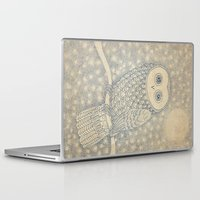 starry night Laptop & iPad Skins featuring Starry Night by Eric Fan