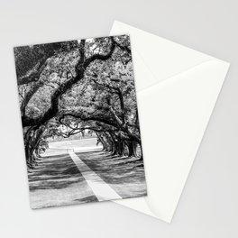 Louisiana Path Through the Oaks Stationery Cards