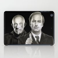 better call saul iPad Cases featuring Better call Saul by Giampaolo Casarini
