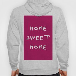 Home sweet home 2 purple Hoody