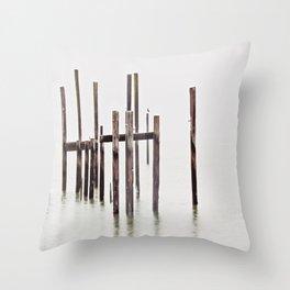 Sausalito nature Throw Pillow