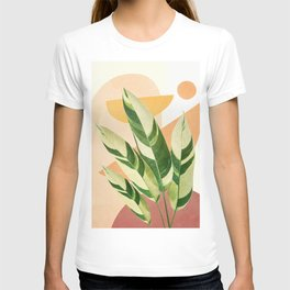Summer Banana Leaves T-shirt