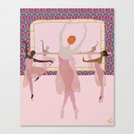 Ballerinas in the Studio Canvas Print