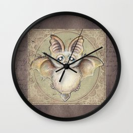 P.P.strello  - the bat Wall Clock