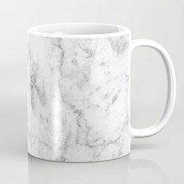 Gray Marble Background Coffee Mug