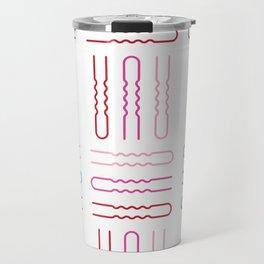 Hair Stylist Pattern Travel Mug
