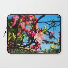 Grandma's Pink Flowers Laptop Sleeve