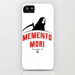 Memento Mori iPhone Case