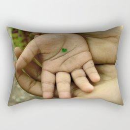 My heart in your hand Rectangular Pillow