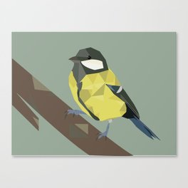 Polly - Great Tit Canvas Print
