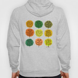 Tidy Trees All In Pretty Rows Hoody