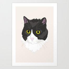 Casual Cat Art Print