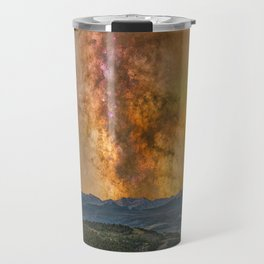 Milky way over the gore range Travel Mug
