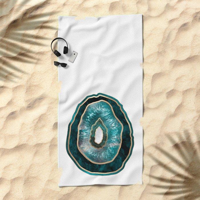 Agate - Turquoise Beach Towel