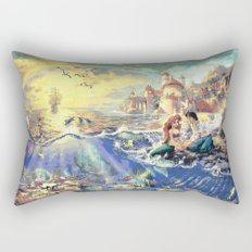 The Little Mermaid - Part Of Your World Rectangular Pillow