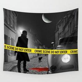 Crime scene do not enter Wall Tapestry