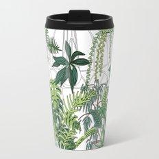 greenhouse illustration Travel Mug