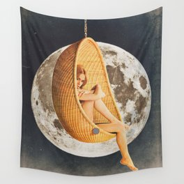 On the Moon Wall Tapestry