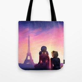 Miraculous in Paris Tote Bag