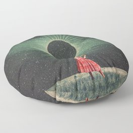 Total Eclipse of You Floor Pillow