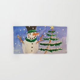 A Star Upon The Christmas Tree Hand & Bath Towel