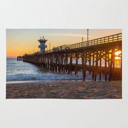 Seal Beach Sunset Rug