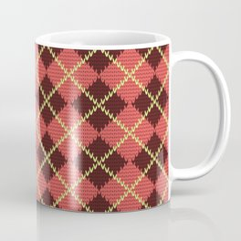 Knit pattern No1 Coffee Mug