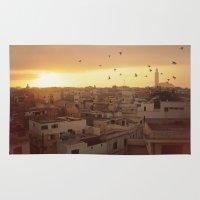 casablanca Area & Throw Rugs featuring Casablanca by GF Fine Art Photography