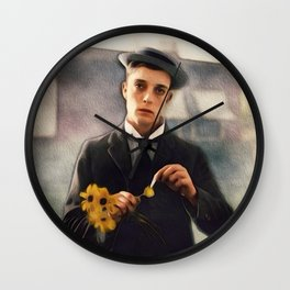 Buster Keaton, Comedian Wall Clock
