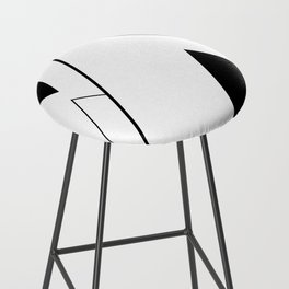 Minimal Mountains Bar Stool