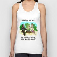 lost in translation Tank Tops featuring LOST in Translation...  The game that goes on FOREVER! by beetoons