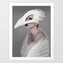 birdgirl Art Print