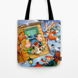 Peter & Jayson Brickel Hear a Bump Tote Bag