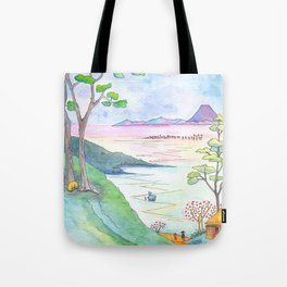 A Japanese Sight Tote Bag