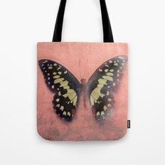 Vintage Butterfly 3 Tote Bag