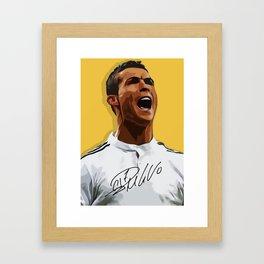 CR7 - Ronaldo Framed Art Print
